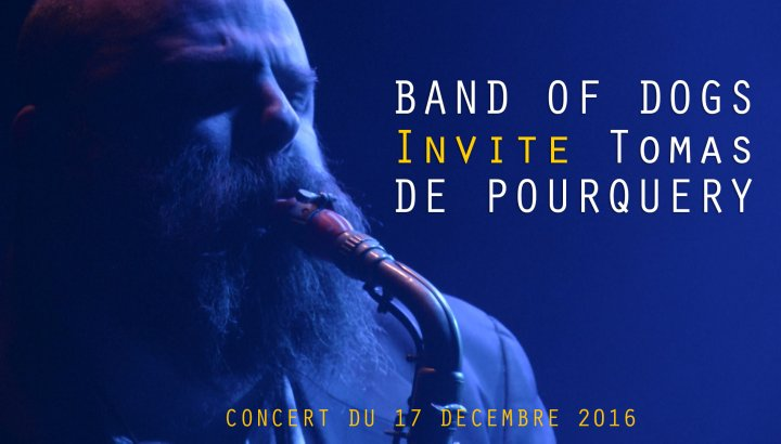 band of dogs invite thomas de pourquery