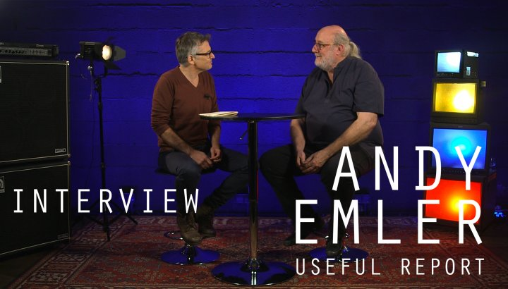 Andy Emler (Useful Report) - Interview avec JazzMag