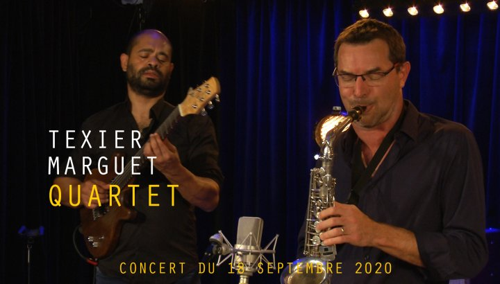 TEXIER / MARGUET QUARTET - We Celebrate freedom fighters