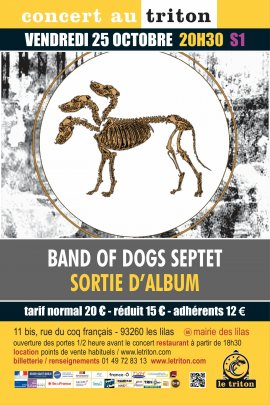 BAND OF DOGS SEPTET