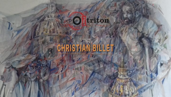 Expo au Triton - Christian Billet